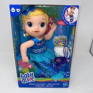 NEW Baby Alive Shimmer N Splash Mermaid doll